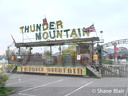 Andrew Harniess's 'Thunder Mountain' Rollercoaster.