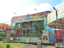 William Bradley's 'Crazy Jungle' Fun House.