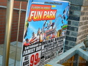 Poster for the Waen car park fair only.