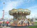 John and Wesley Gill's double deck Carousel.