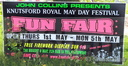 Knutsford May Day Fair, Cheshire, Saturday 3rd May 2014