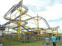 Abie Danter's 'Wild Mouse' Rollercoaster.