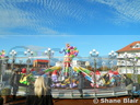 Spencer Hall's 'Dumbos' Flying Elephants.