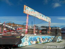 James Stokes' 'Santa's Sleigh Ride' family Coaster.