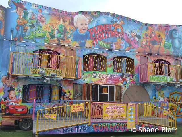 Ronald Cubbins Planet Hollywood Funhouse Shane S