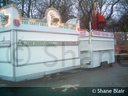 Catering trailers.