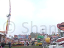 A view of the fair.