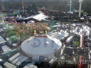 Ariel view of Winter Wonderland.