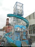 Victor Gray's 'Ice Slide' Helter Skelter/Slip.