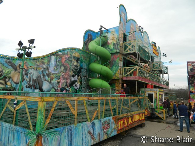 Curtis Eddy's 'Jungle' Funhouse.